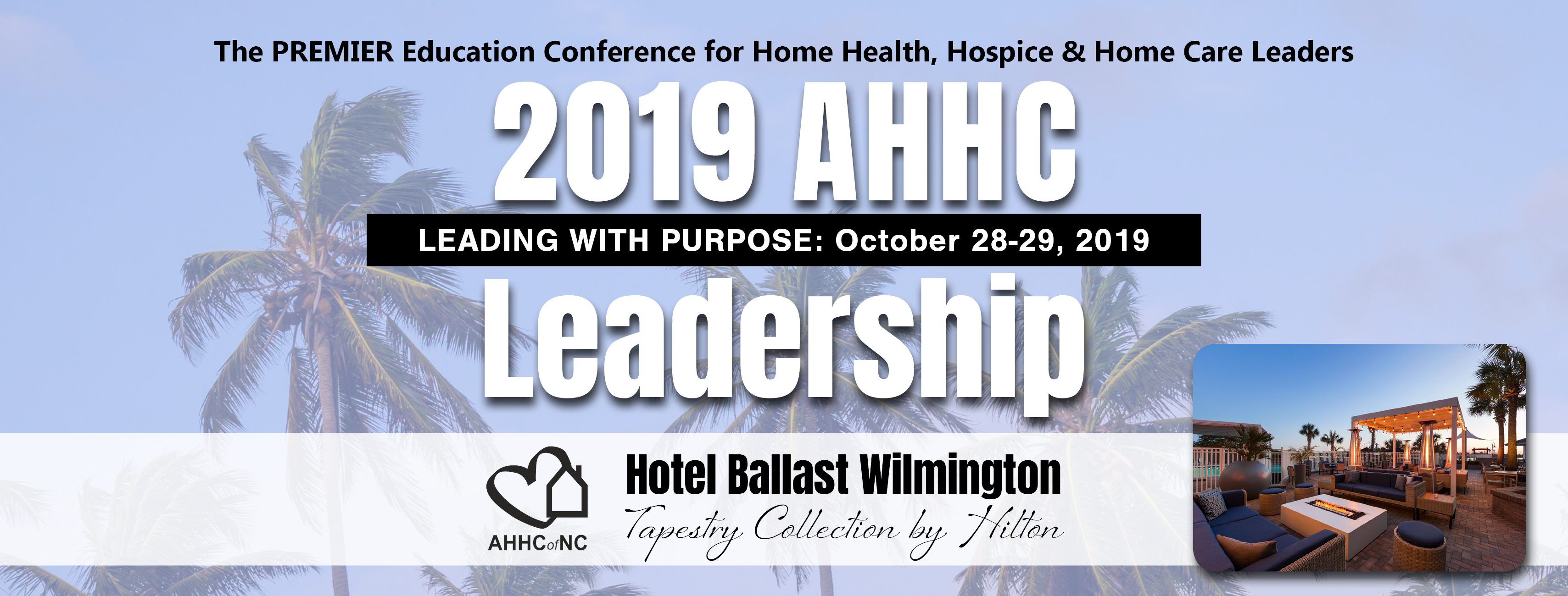 Display event - 2019 Leadership Conference: Leading with Purpose